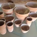 Bowls, cachepots e vasos série da Terra