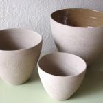 Bowls em argila reciclada