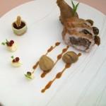 Prato para chef Alain Polleto